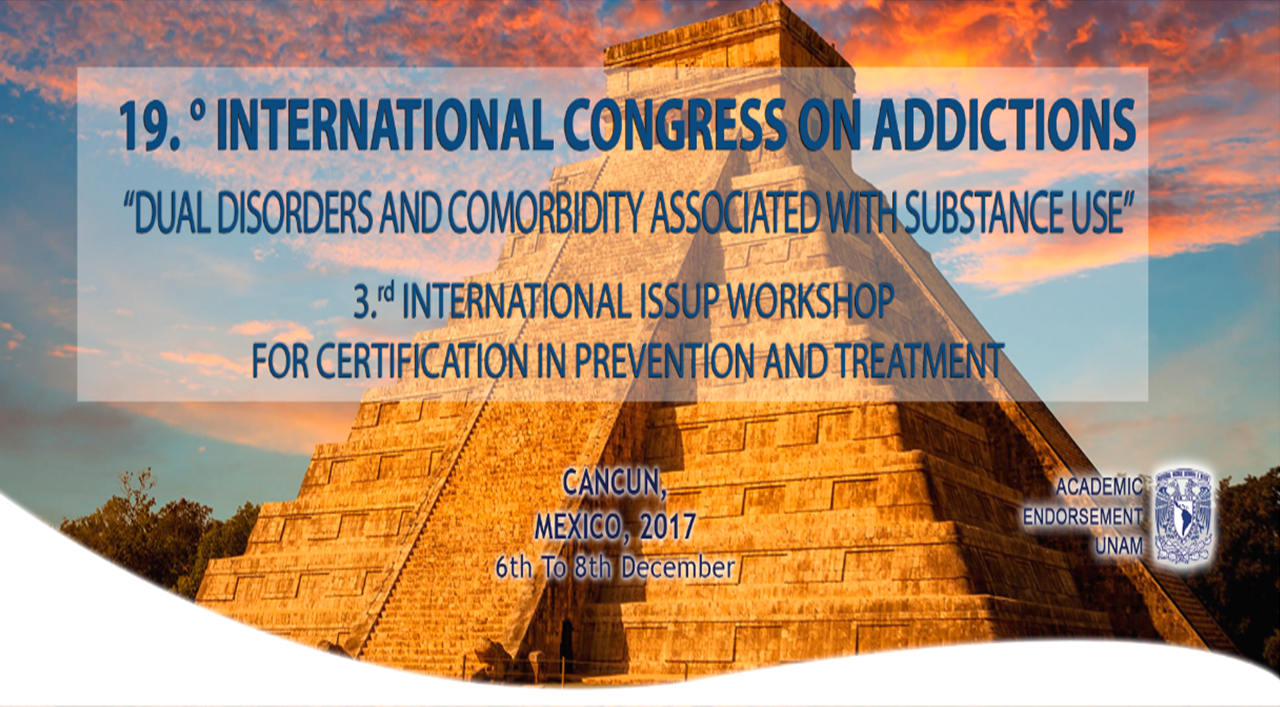 19th International Congress On Addictions Dual Disorders And