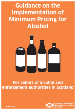 Guidance on the Implementation of Minimum Pricing for Alcohol