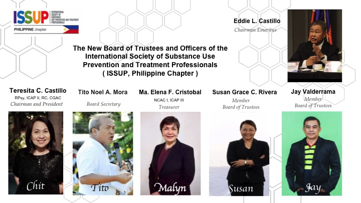 ISSUP, Philippines New Board & Officers for 2020