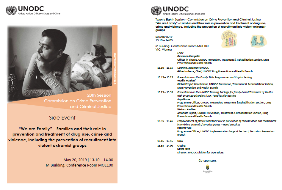 CCPCJ side event agenda and flyer