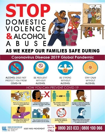end GBV and Alcohol abuse