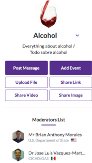 alcohol network