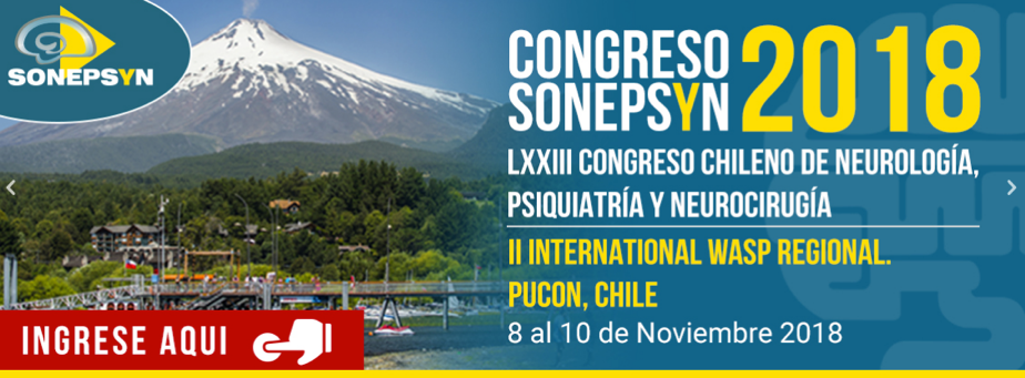 Chilean Congress of Psychiatry, Neurology and Neurosurgery 2018