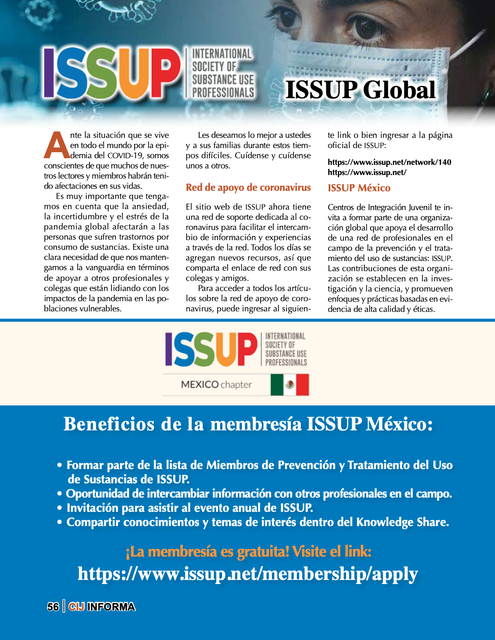 ISSUP Mexico in Revista 89