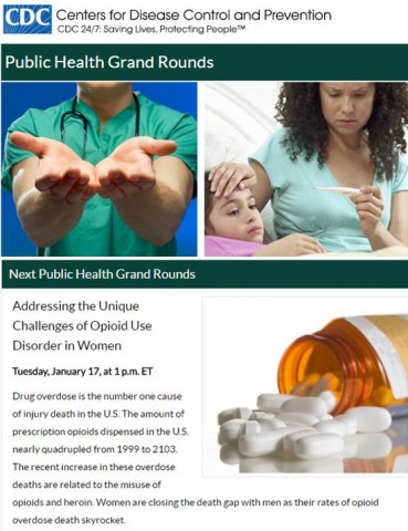 CDC Public Health Grand Rounds January 2017