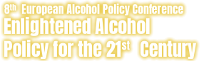 8th European Alcohol Policy Conference 2018