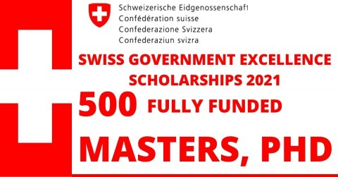 Swiss Government Excellence Scholarships 2021