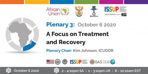 Drug Demand Reduction in Africa Virtual Conference ISSUP