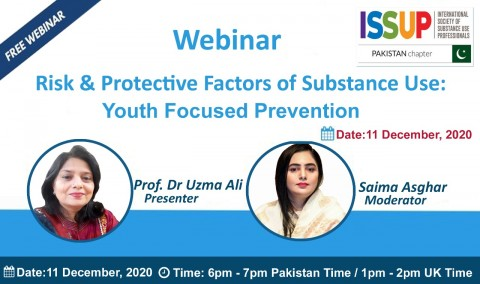ISSUP Pakistan Youth Focused Prevention Flyer