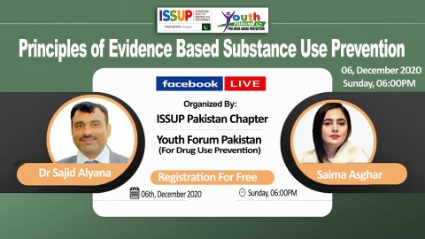 "Live Session on ""PRINCIPLES OF EVIDENCE BASED SUBSTANCE USE PREVENTION"""