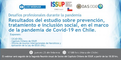 ISSUP Chile flyer