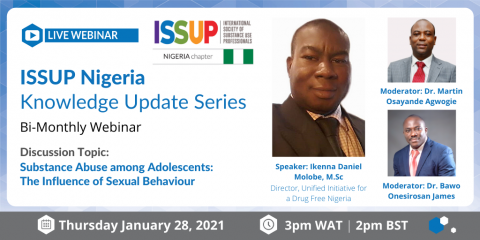 ISSUP Nigeria Knowledge Update Series Flyer