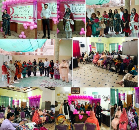 ISSUP Pakistan Chapter & M A Jinnah Foundation Celebrated International Women's Day 2021 at New Life Rehab Center with Collaboration Youth Forum Pakistan on Dated 8th March, 2021.