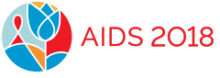 22nd International AIDS Conference logo