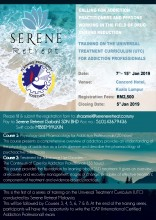 Serene Retreat Presents first round of training for UTC 1 & 2