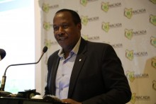 Dr.Richard Gakunju at the launch of  NACADA Strategic Plan