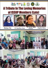 A Tribute In The LovingMemories of ISSUP Members (Late)