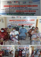 CELEBERATION OF 26TH JUNE INTERNATIONAL DAY AGAINST DRUG ABUSE AND ILLICIT TRAFFICKING BY UMEED CLINIC, ISSUP PAKISTAN, YOUTH FORUM PAKISTAN AT AZAD JAMMU & KASHMIR
