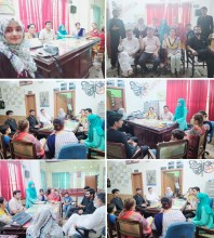MONTHLY MEETING OF ISSUP MEMBERS & YOUTH FORUM PAKISTAN'S TEAM SIALKOT AT NEW LIFE REHAB CENTER, SIALKOT-PAKISTAN 10TH AUGUST, 2020