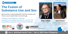 ISSUP Philippines Fusion of Substance Use and Sex Webinar Flyer