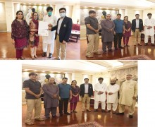 President ISSUP Pakistan had Meeting with Directors and Members also Distributed ICAP Certificates at PC Hotel, Lahore-Pakistan