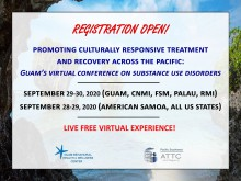 2020 Guam Virtual Conference on Substance use Disorders ISSUP