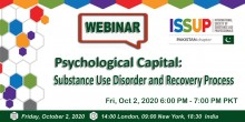 ISSUP Pakistan Psychological Capital Flyer