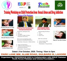 One Day Training Workshop on Child Protection from Sexual Abuse and Drug Addiction