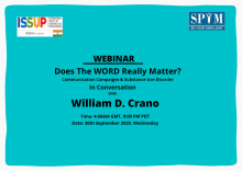 ISSUP India Communications Campaign Webinar flyer