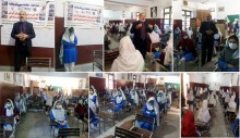 Drug Use Prevention Session among Students at Government Girls High School Taj Pura Scheme, Lahore Organized By ISSUP Pakistan and Pak Youth Council Lahore in Colleberation with Youth Forum Pakistan and Anti-Narcotics Force Punjab-