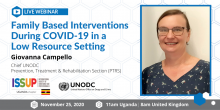 ISSUP Uganda Giovanna Campello UNODC Prevention
