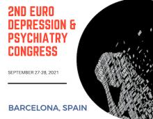 European depression and psychiatry congress with eminent psychiatrists, mental health professionals from USA, Europe, Asia, Middle East